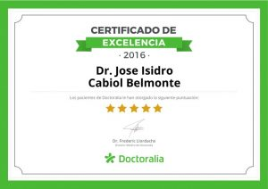 Excelencia doctor Cabiol