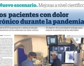 Los pacientes con dolor crónico durante la pandemia del Covid
